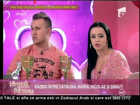 """Dănuţ despre Maria şi Nicolae: """"Doi circari! Au venit în competiţie ca să facă circ!"""""""