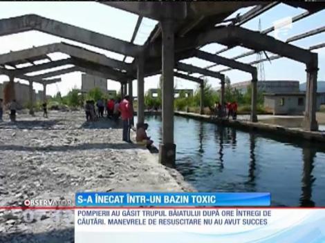 Un tânăr din Baia Mare a murit înecat într-un bazin de decantare a metalelor