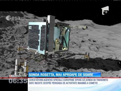 Sonda spaţială Rosetta a atins cea mai mică distanţă posibilă faţă de soare