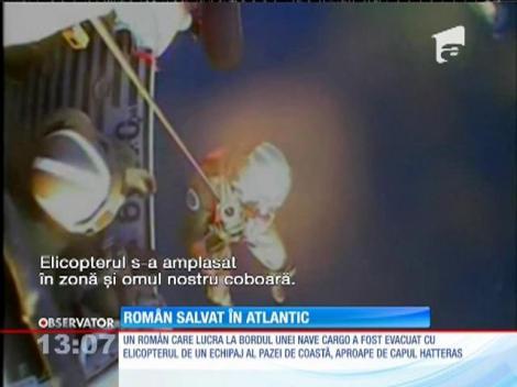 Marinar român salvat din Oceanul Atlantic