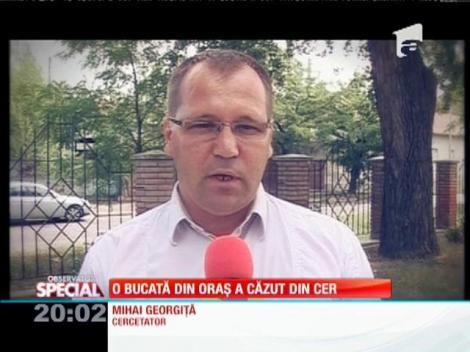 SPECIAL! Un cartier din Oradea a fost ridicat pe un crater de meteorit