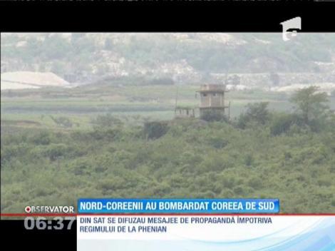 La un pas de război! Coreea de Nord a bombardat o localitate din Coreea de Sud!