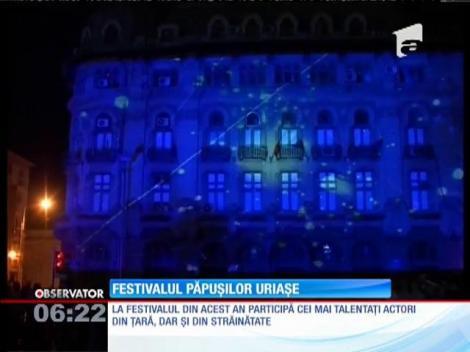 """A doua ediţie a celui mai mare festival de artă a animaţiei, """"Puppets occupy street"""", din Craiova"""