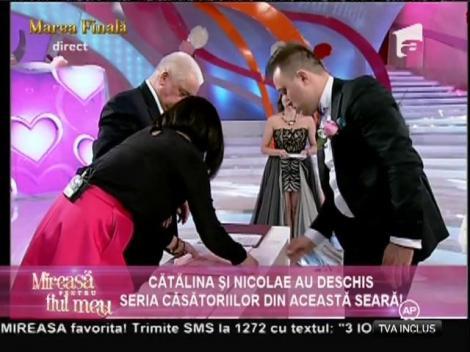 Cătălina şi Nicolae s-au căsătorit!
