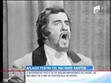 Sicriul cu trupul baritonului Dan Iordăchescu a fost depus la Ateneul Român