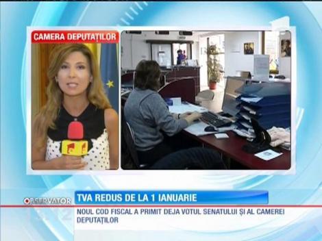 TVA redus de la 1 ianuarie