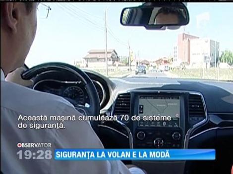 Siguranța la volan, la modă printre șoferii români