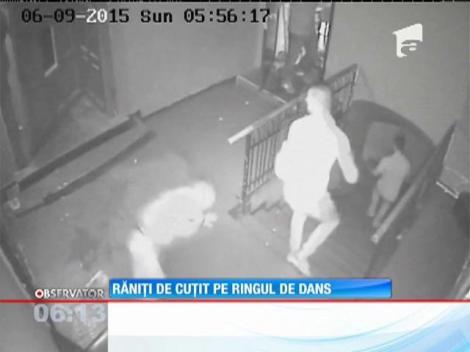 Înarmați cu un cuţit, doi prieteni au provocat un scandal sângeros într-un club din Baia Mare