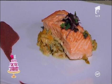 Meniul a fost unul special! Preparatele lui Chef Sorin Bontea, vedetele petrecerii