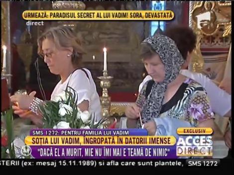 """Doina, soţia lui Corneliu Vadim Tudor, mărturii sfâșietoare de la căpătâiul său: """"Casa e pustie şi rece. Îl aşteptăm să vină"""""""