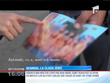 Scandal la o şcoală din Baia Mare. Mai mulţi părinţi acuză că elevii au fost repartizaţi în clase în funcţie de etnie