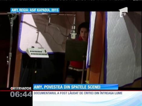Amy Winehouse revine pe marile ecrane într-un documentar