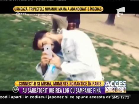 Connect-R și Misha, escapadă romantică la Paris! Au sărbătorit un an de la căsătorie în orașul îndrăgostiților