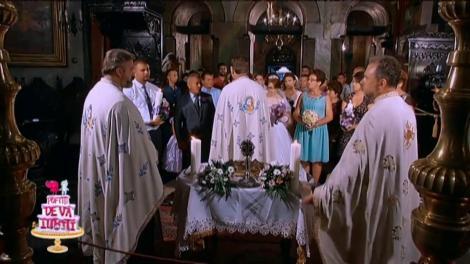 Moment emoţionant! Rona şi Diana au plâns la ceremonia religioasă!