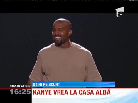 Cântărețul Kanye West va candida la preşedinţia Statelor Unite