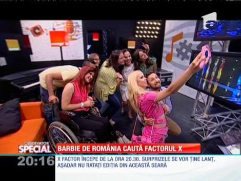 Special! Barbie de România caută factorul X