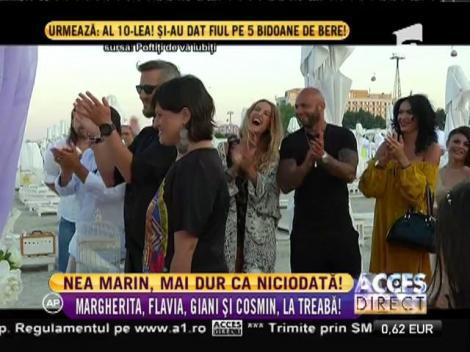Margherita, Flavia, Giani și Cosmin, puși serios la treabă de Nea Marin!