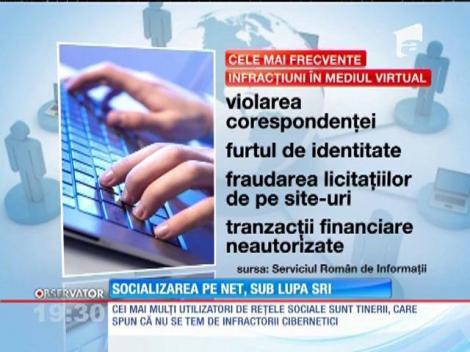 Socializarea pe net, sub lupa SRI