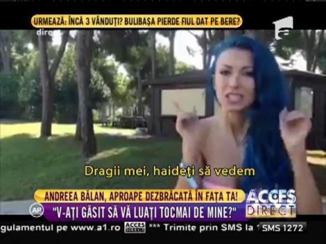 Andreea Bălan, reacţie dură către răutăcioşii din presă! A fost atacată, iar răspunsul său te lasă fără cuvinte