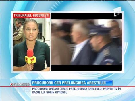 Procurorii DNA cer prelungirea arestului primarului suspendat al Capitalei, Sorin Oprescu