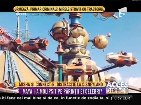 Connect-R şi Misha, distracție la Disneyland!