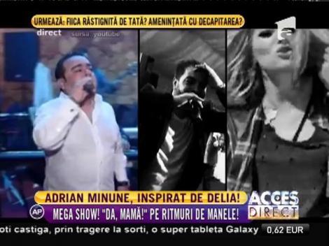 """Adrian Minune o copiază pe Delia? Artistul a cântat varianta manelizată a celebrei melodii """"Da, mamă!"""""""