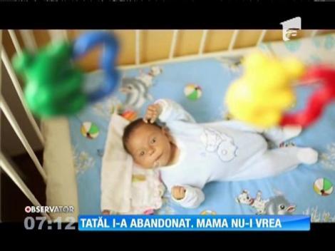 Copii abandonaţi la poarta Spitalului Judeţean din Baia Mare, respinși de părinți
