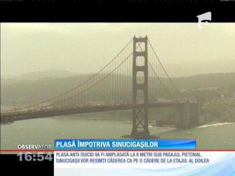 Din cauza sinucigaşilor, podul Golden Gate intră în renovare!