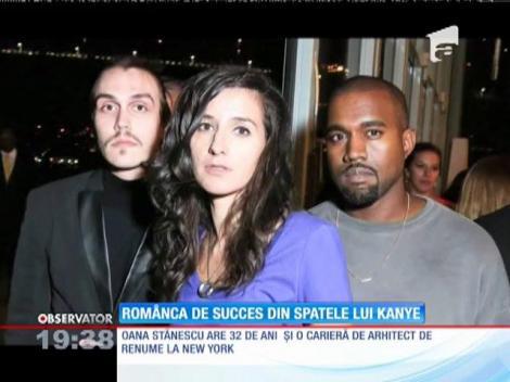 În spatele succesului celebrului rapper Kanye West stă o româncă!