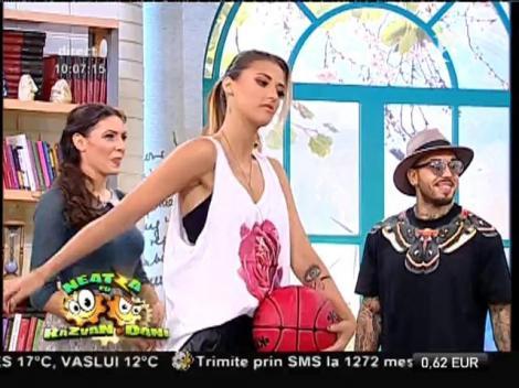 Meci inedit de baschet! Antonia, Alex Velea, Tudor Turcu vs. Dani Oţil, Flavia Mihăşan şi Răzvan Simion