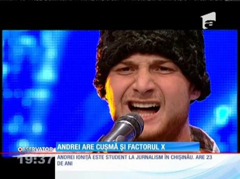 Andrei Ioniţă are umor și factorul X