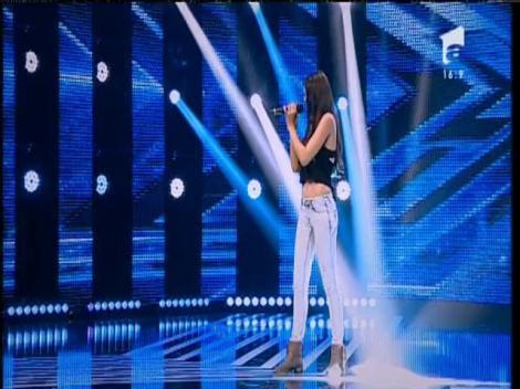 "Miley Cyrus - ""Wrecking Ball"". Vezi interpretarea lui Majdoline Ftouhi , la X Factor!"