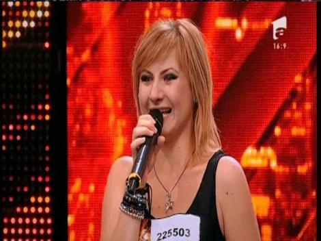 Ana Maria Trandaf a transmis emoţie şi a câştigat inimile juraţilor!