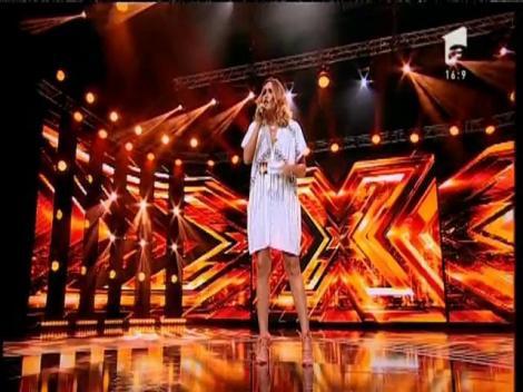 """Emeli Sandé - """"Clown """". Vezi interpretarea Antiniei Simion, la X Factor!"""