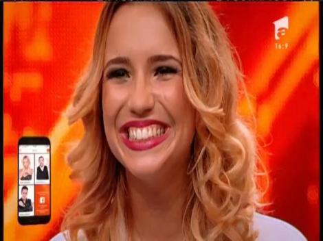 Antinia Andrada Simion se califică în faza următoare de la X Factor!