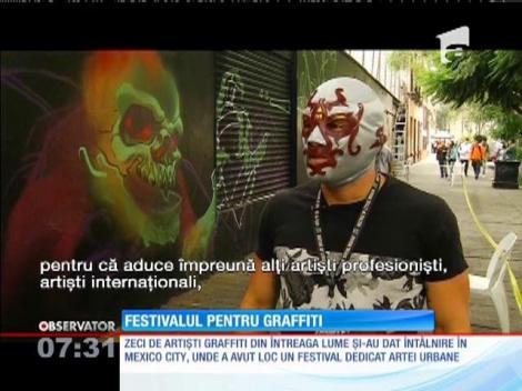 Festivalul de graffiti din Mexico City