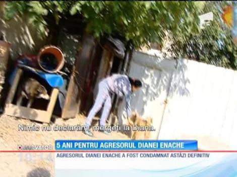 Verdict final! Agresorul Dianei Enache va sta 5 ani după gratii
