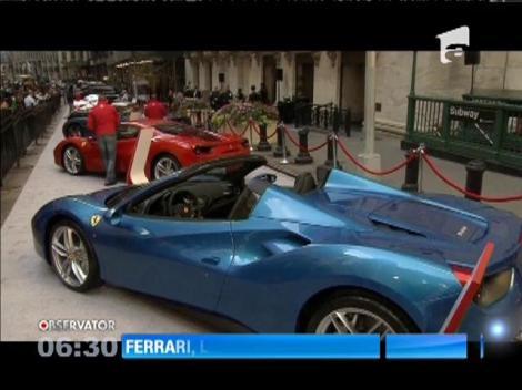 Ferrari şi-a listat acţiunile la bursa de la New York