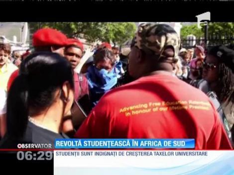 Revoltă studențească în Africa de Sud