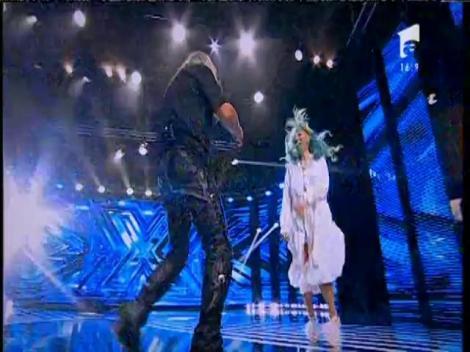"""Rammstein - """"Du Hast"""". Vezi interpretarea lui Dan Raţiu, la X Factor!"""