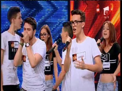 """Daft Punk - """"Get Lucky"""".Vezi interpretarea trupei ELEVEN, la X Factor!"""