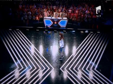 Anouk - Nobody's Wife. Vezi interpretarea Lucianei Răducanu, la X Factor!