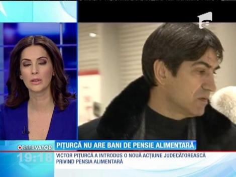 Victor Piţurcă o aduce pe mama copilului său din nou la judecată