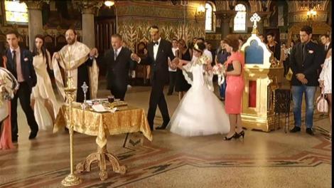 Ceremonie emoționantă pentru Gheorghe și Maria! Cum au reacționat aceștia în timpul slujbei