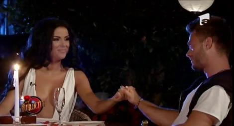 Moment intim între Daniela Crudu şi Lucian! Cei doi au avut parte de o întâlnire foarte specială