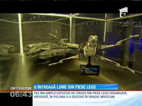 Cea mai amplă expoziție de creații din piese Lego din Polonia