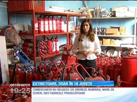 23 de judeţe din România nu au niciun magazin cu echipamente pentru prevenirea incendiilor