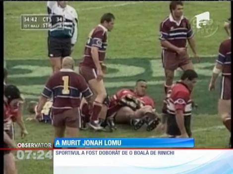 Lumea rugbyului în doliu! Jonah Lomu a încetat din viaţă la 40 de ani