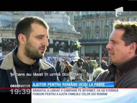 Un moment emoţionant s-a consumat în direct, la CNN, în cazul celor doi români morţi în teribilele atacuri de la Paris