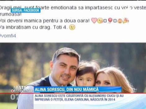 Alina Sorescu urmează să devină din nou mămică